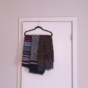 Bundle of 3 Talbots scarves